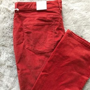 Universal Thread Corduroy Pants Burnt Orange 20W